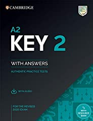 Cambridge English. A2 Key for schools. For revised exam 2020. A2. Student's book. With answers. Per le Scu