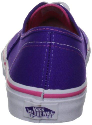 Vans T Authentic, Baskets mode mixte bébé Rose (Heliotrope/Rose)