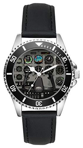 Regalo para Cessna Aviador Fan Conductor Kiesenberg Reloj L-10019