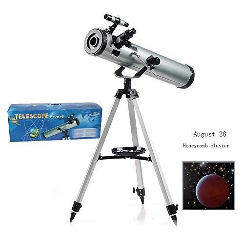AKEFG Telescopio Adultos Principiantes observar Estrellas