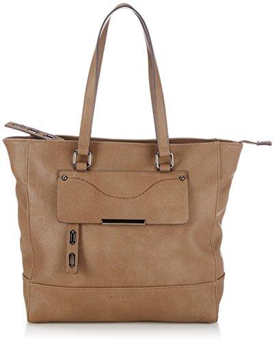 more-more-holly-cityshopper-bolsa-de-la-compra-de-material-sintetico-mujer-color-marron-talla-43x32x