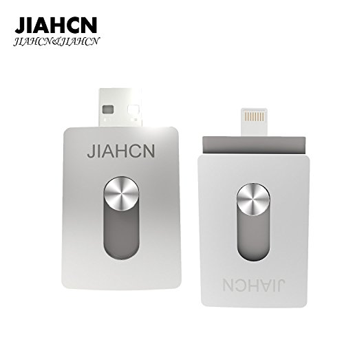 JIAHCN [Apple Speicher Stick] 3 in 1 USB Flash Drive Laufwerk Memory Stick Speichergerät Festplatte 16GB 32GB 64GB für Apple iPhone 7/7Plus/SE/5/5s/5c/6/6 Plus/6s/6s Plus/iPod touch 5/iPod nano 7/iPad Mini 1/2/3/ iPad 4/ Pro/ Air 1/ 2/ Computer Mac Laptop PC (32GB)