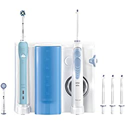 Oral-B kit para la higiene bucal, Oral-B Pro 700Cepillo eléctrico y irrigador Waterjet