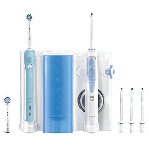 Oral-B Waterjet Pro 700 Spazzolino Elettrico Ricaricabile, Sistema Pulente con Idropulsore