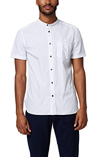 Esprit 068ee2f006, camicia uomo, bianco (white 100), large