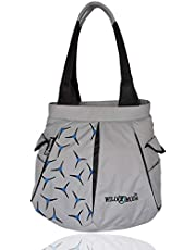 WildModa F-Track Women's Shoulder Bag Grey & Black