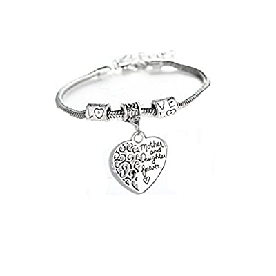Family Love Heart Bangle Bracelet : everything £5 (or less!)