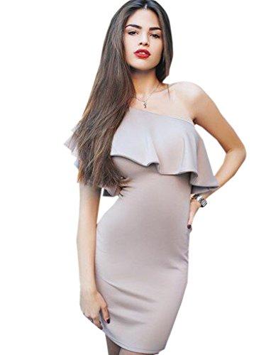Blooming Jelly Damen Kleid X-Large Grau