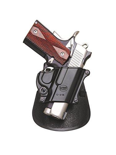 Fobus dissimulé porter étui pistolet rétention Paddle Holster Pour Die  meisten Colt 1911 Style Pistols, ohne Schienen / Kel-Tec PF9 / Kahr MK9