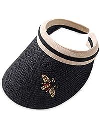 d32f506bb8451 DORRISO Gorra de Sol Sombrero Anti-UV Protector Solar Visera Viajar  Vacaciones Equitación Excursionismo Playa