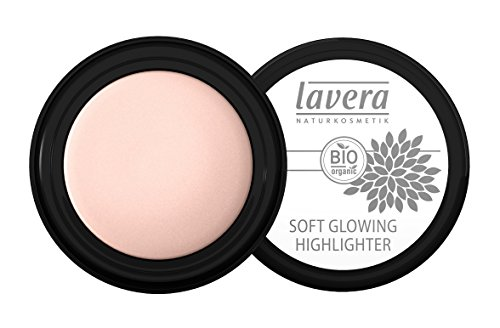 lavera Soft Glowing Highlighter ∙ Farbe Shining Pearl ∙ Schimmer für Augen & Wangen ∙ Natural & innovative Make up ✔ vegan ✔ Bio Pflanzenwirkstoffe ✔ Naturkosmetik ✔ Augen Kosmetik 1er Pack (1 x 4 g)