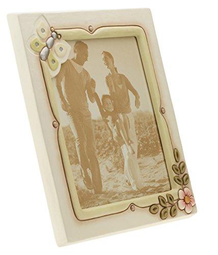 Thun c2035h90 portafoto maxi da parete/appoggio fiore, ceramica, 38.5 x 41.7 x 7 cm