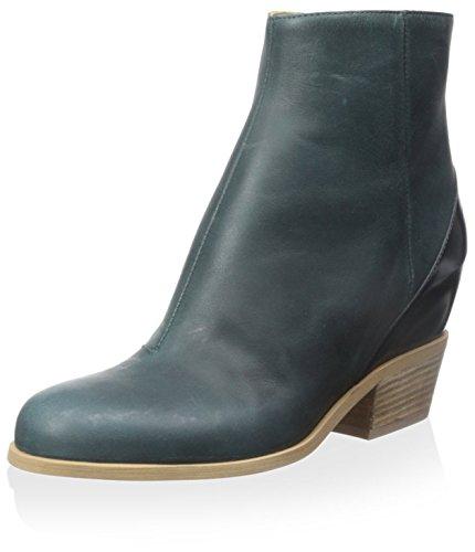 MAISON MARTIN MARGIELA MM6 Damen Stiefel aus Leder, (Cobalto), 38 EU