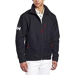 Helly Hansen Crew Midlayer Jacket Giacca sportiva Uomo - Blu (Blu (597 Navy)) - M