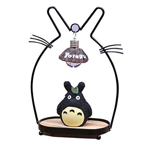 Totoro Nachtlicht Chinchilla Kleine Lampe Dekoration Kreative Dekoration Handwerk Boutique Geschenk Desktop Kleine Einrichtung Für Kinder Liebhaber,B