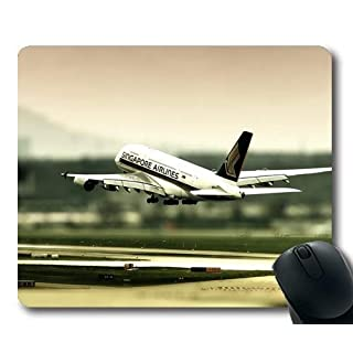 aircraft desktop,Comfortable Mouse Pad,fighter ace,Mouse Pad with Stitched Edges