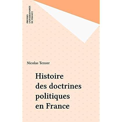 Histoire des doctrines politiques en France (Que sais-je ? t. 304)