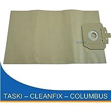 Microsafe - 20 bolsas para aspirador para Cleanfix S10, S10 Plus , S 10 Plus