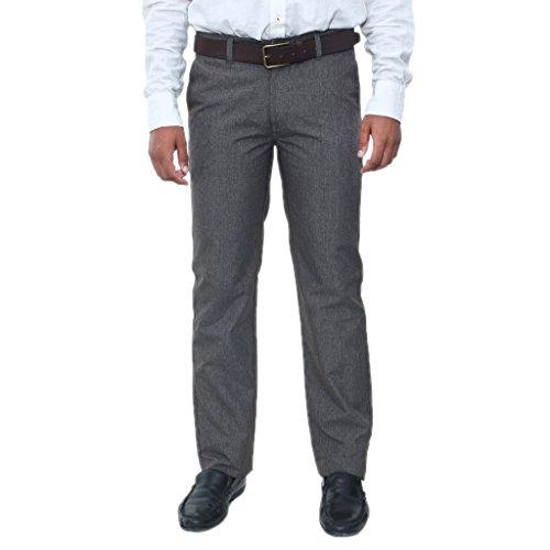 Masculine Affair Regular Fit Brown Color Trouser