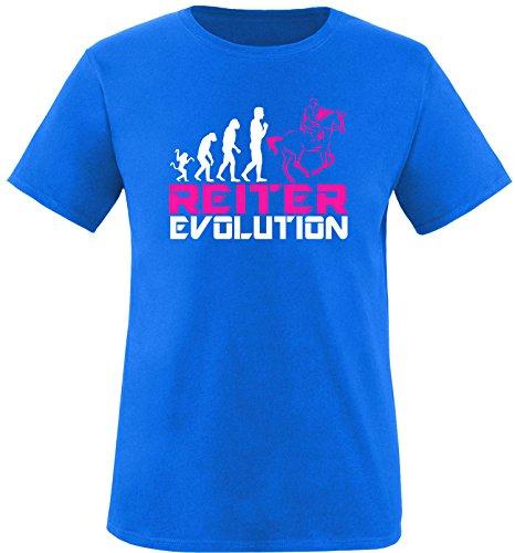 EZYshirt® Reiter Evolution Kinder T-Shirt