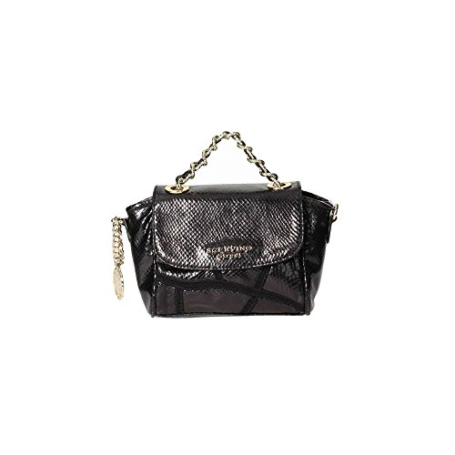 Borsa Scervino Street Cod. SCBPU0000013 Amaranthe marrone pitonata bag shoulder brown borsetta donna outlet borse a mano hand bag brown borsa tracolla made in italy should