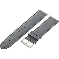 Pure grey Leather Strap Chur 71S/29 20mm