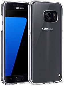 S7 Case, LK Ultra [Slim Thin] Scratch Resistant TPU Gel Rubber Soft Skin Silicone Protective Case Cover for Samsung Galaxy S7 (Clear)