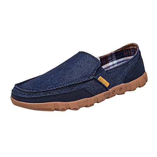 ASHOP Sport- & Outdoorschuhe,Walkingschuhe,Herren Sommer Stretch Mode Wild LäSsig Erbsen Schuhe Faul EIN Business Einzelschuhe Tragbar