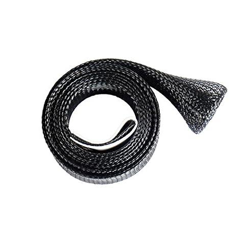 La Pêche, Bobogo 30mm 170cm Canne à pêche de moulage Sleeve Housse Pole GLOVER Tip Protector Sac Chaussette, noir