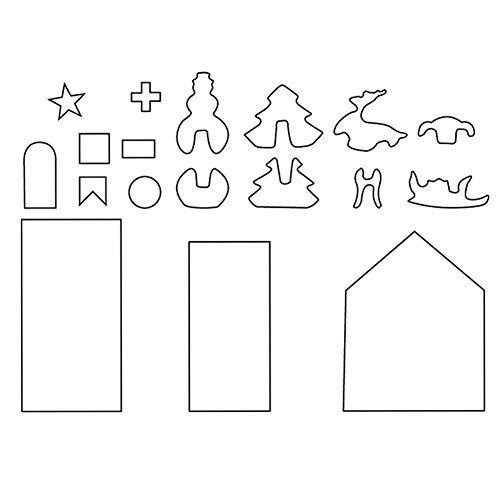 Keks-Form Des Edelstahl-18PCS 3D, Backen-Werkzeug-Form-Satz, DIY Backform-Satz