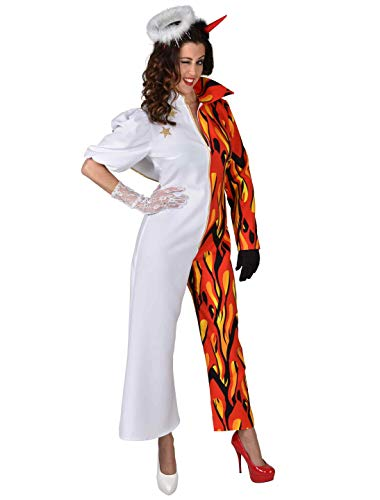 Teufel Kostüm Damen Deiters - MAGIC BY FREDDYS Overall Engel/Teufel Damen