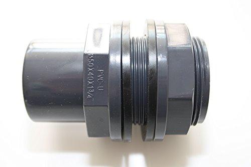 ERA 'PVC U 40 mm 50 x 40 x 1 3/4 avec manchon et colle filetage extérieur