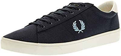 Fred Perry Spencer Canvas Navy Sky Blue B8285C11, Deportivas