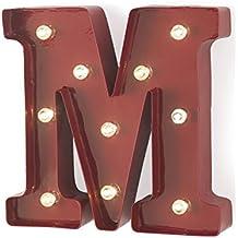 MONTEMAGGI lampada M luminosa e colorata in stile industriale in