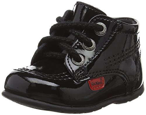 Kickers Unisex Kids' Toddler Kick Hi Shoes - Black, 3 Child UK...