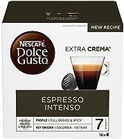 Nescafé Dolce Gusto Espresso Intenso Caffè, 6 Confezioni da 16 Capsule (96 Capsule)