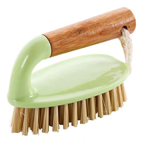 YA-Uzeun Mehrzweck-Handscheuerbürste mit Griff, ideal für Böden, Badewanne