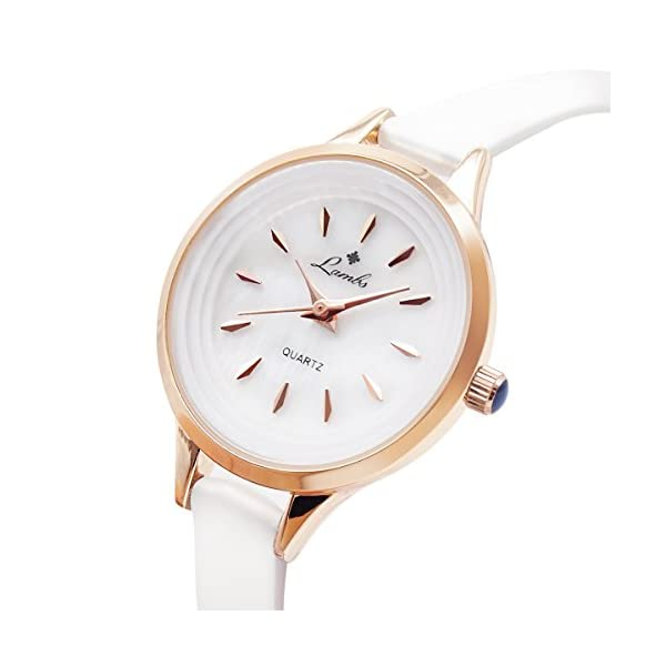 770d79789 Ladies Watches Sale Clearance, Womens Classic Waterproof Quartz Wrist  Watches with White Dial Analogue Display Easy to Read Times Fashion Leather  ...