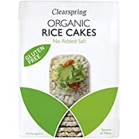 Clearspring | Rice Cakes - No Added Salt,Org | 12 x 130g