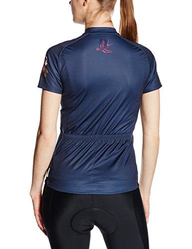 Maloja Femme Manches Courtes T-Shirt Dove 1/2 Bleu - Bleu-gris