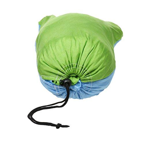 Doppel Person Outdoor Camping Hängematte, Maximale Belastbarkeit 300KG, aus Fallschirmseide - 3