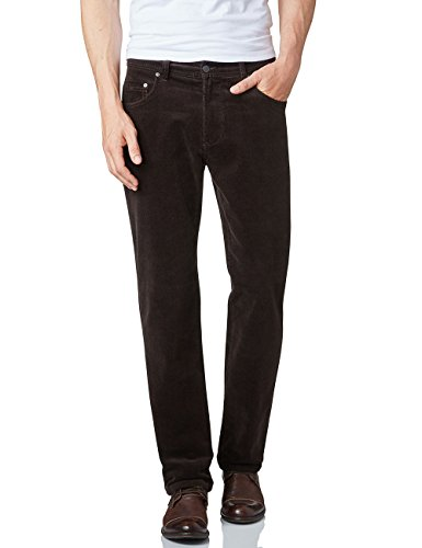 Pioneer Herren Straight Leg Hose Rando Braun (dark brown 48)