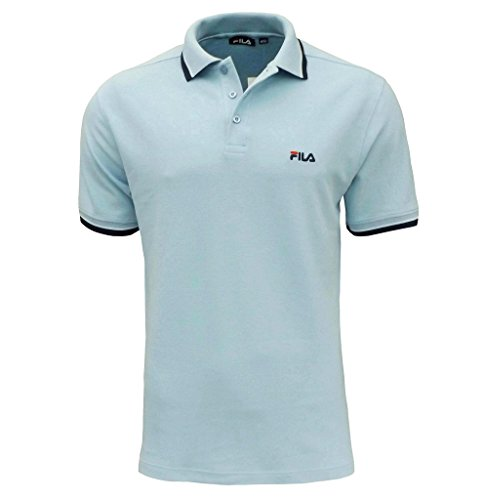 fila-moriase-mens-polo-t-shirt-top-sky-blue-x-large