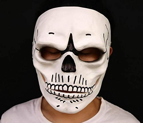 hcoser Movie 007: Spectre James Bond Maske Cosplay Requisiten Party Halloween Karneval Totenkopf Schädel Horrible Helm
