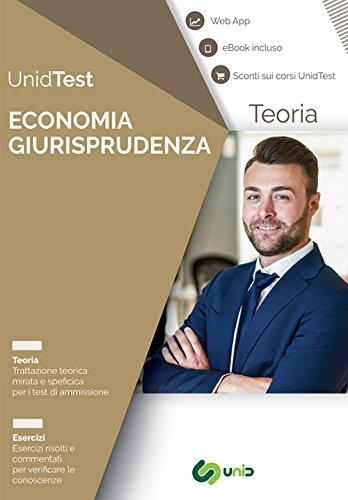 Manuale di teoria per i test di ammissione a economia e giurisprudenza. con ebook. con contenuto digitale per accesso on line