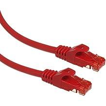 Maclean MCTV-300,301,302,303 - Cable patchcord Ethernet cable de conexión, 2x RJ45 UTP Cat6, 1.000 Mbit/s disponible en diferentes longitudes y colores (0,5m, R)