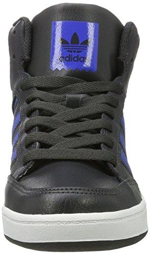 adidas Varial Mid, Scarpe da Skateboard Unisex – Adulto Grigio (Dgh Solid Greyblueftwr White)