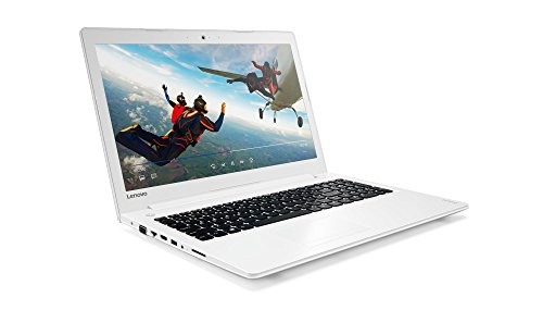 "Lenovo Ideapad 510-15ISK - Portátil de 15.6"" FullHD IPS (Intel Core I7-6500U, 8 GB de RAM, 1 TB de disco duro, Nvidia GeForce GT 940MX con 4 GB, Windows 10) blanco - teclado QWERTY español"