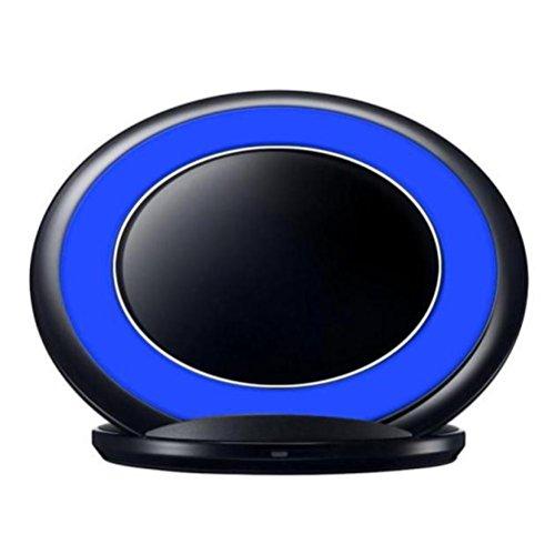 3-Spulen Qi Wireless Charger Ladestation Dock für Samsung Galaxy Note 7 / S7 Rand (Blue)