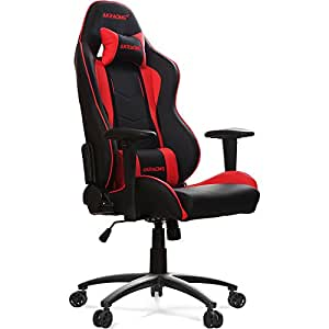 ak racing nitro fauteuil de bureau noir rouge. Black Bedroom Furniture Sets. Home Design Ideas